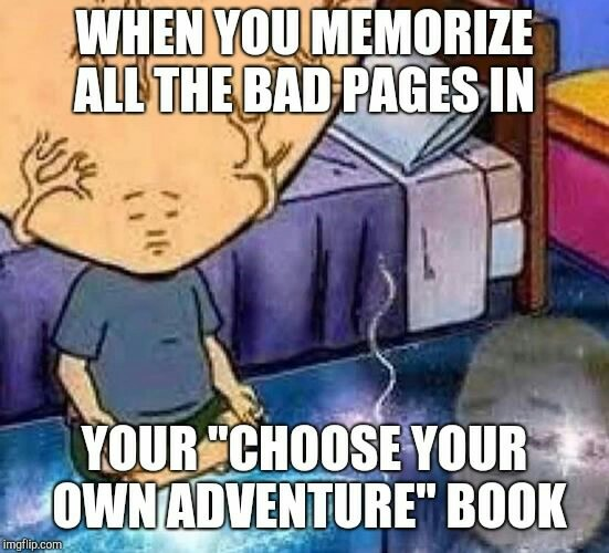 What's yoyr favorite book? - meme