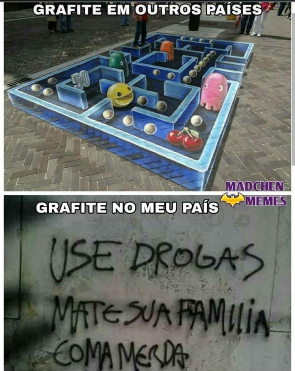 Brasil mostra sua cara - meme