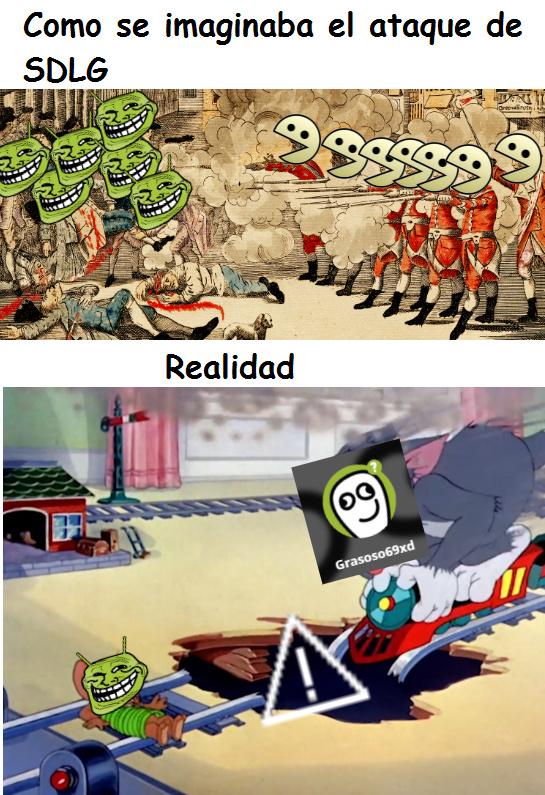 La invasion mas corta de la historia - meme