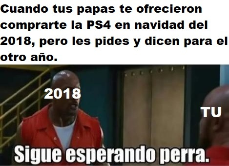 Y así hasta que te independices - meme