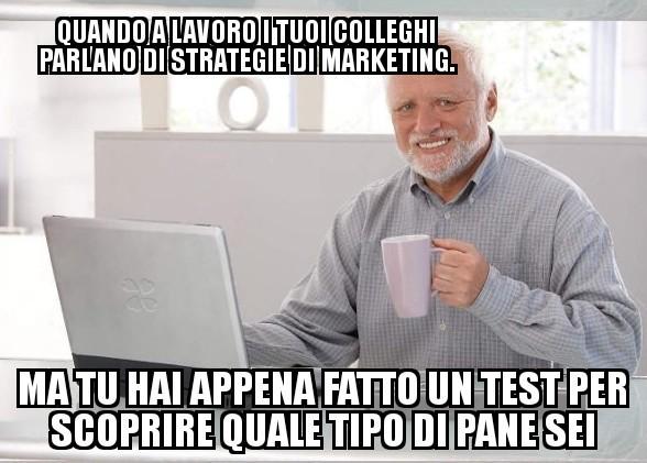 Il marketing... Boh - meme