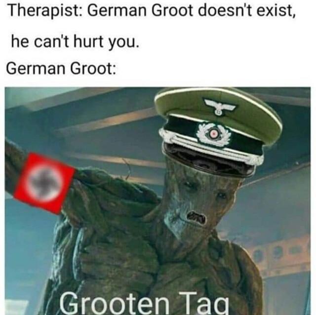 grooten tag - meme