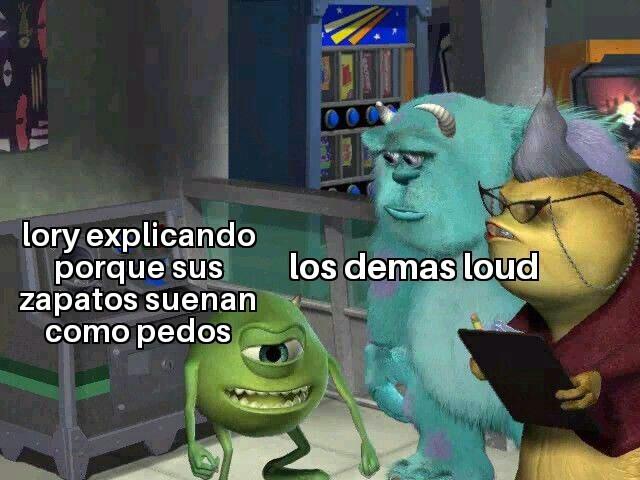 Esto es the loud house - meme