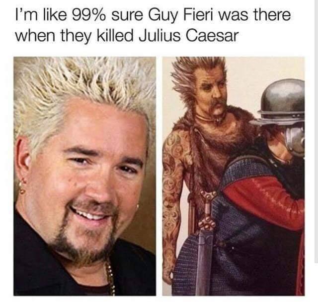 2000 y/o Guy Fieri - meme