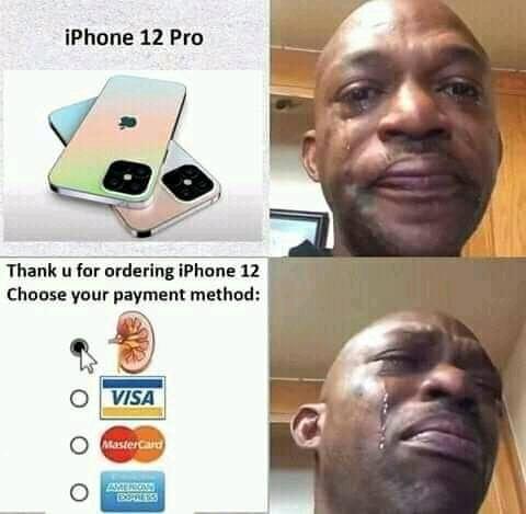 iPhone users Taking it too far! - meme