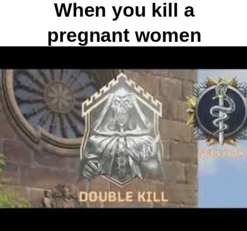 Double kill - meme