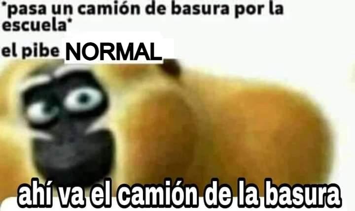 el pibe normal - meme