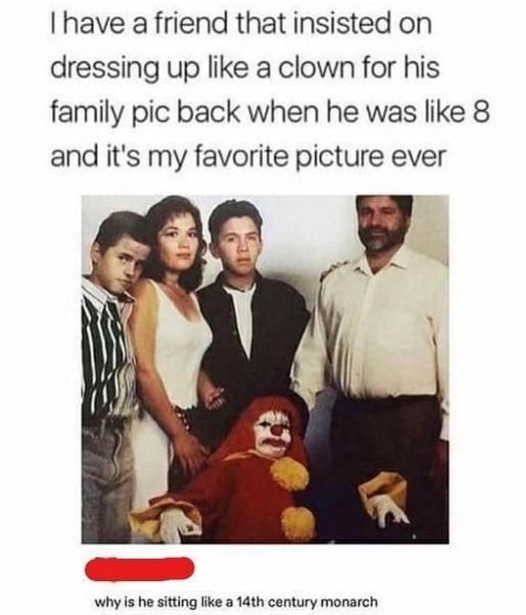clowning around - meme