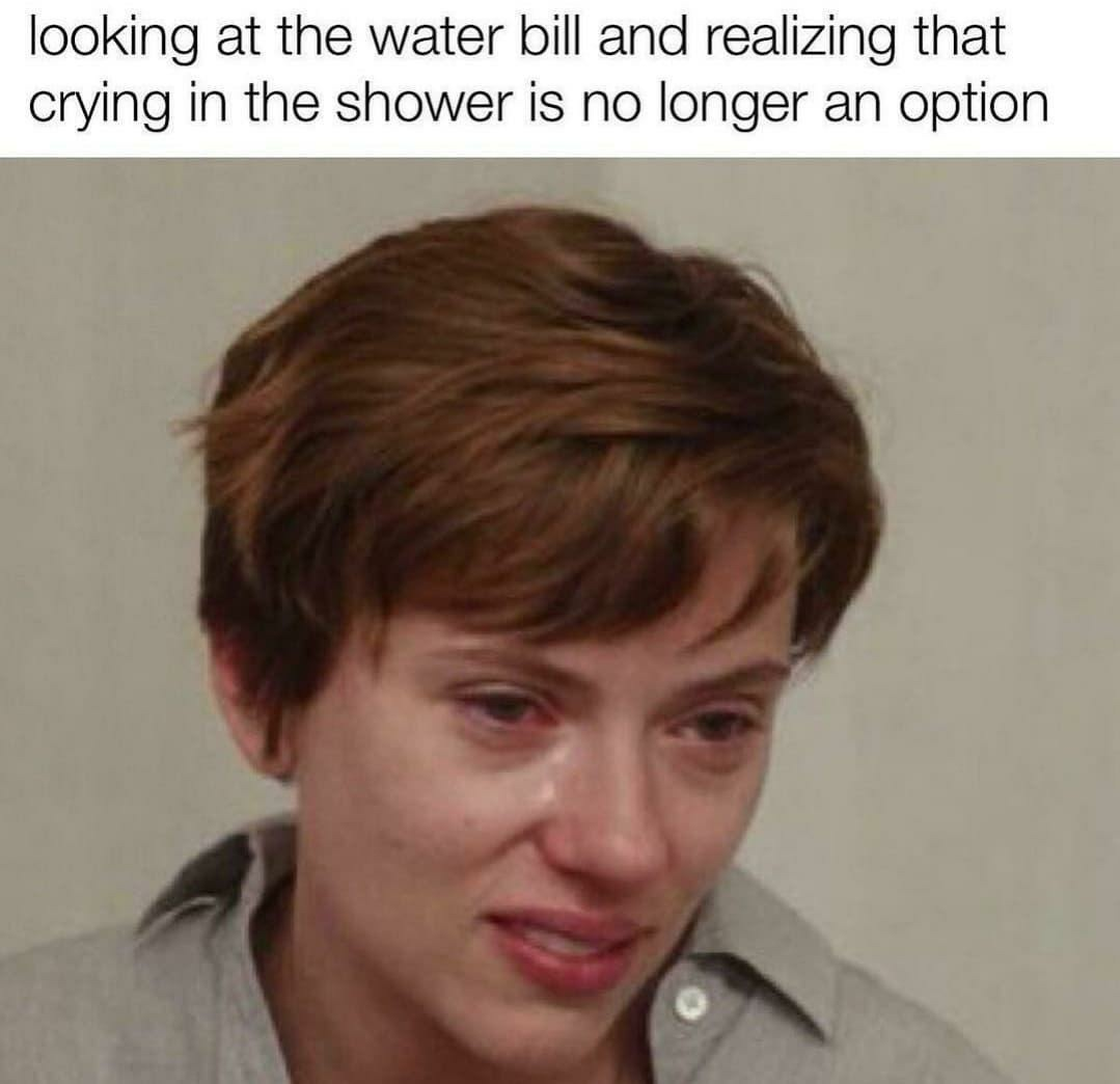 Expensive water - meme