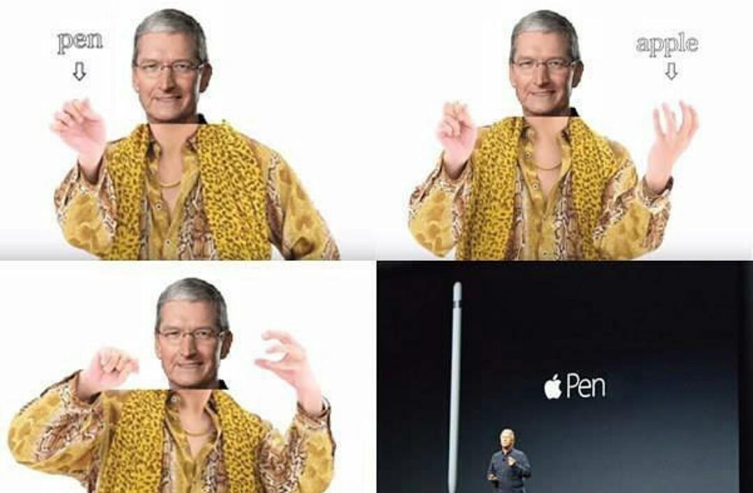 Better? PINEAPPLE PEN - meme
