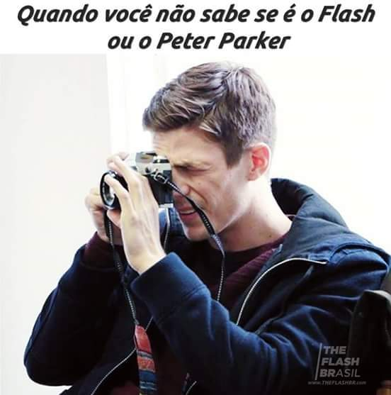 My name is Peter Parker and i am the faste.. nao pera - meme
