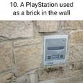 """""""Um PS1 usado como tijolo"""""""
