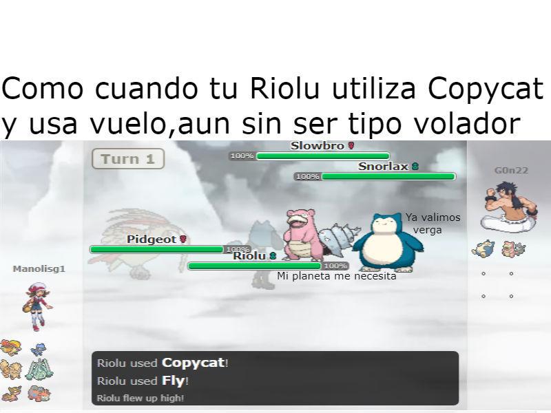 Batalla Pokemon - meme