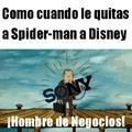 Spiderman se va de Marvel