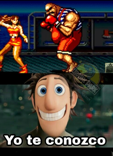 El videojuego se llama Street of Rage - meme
