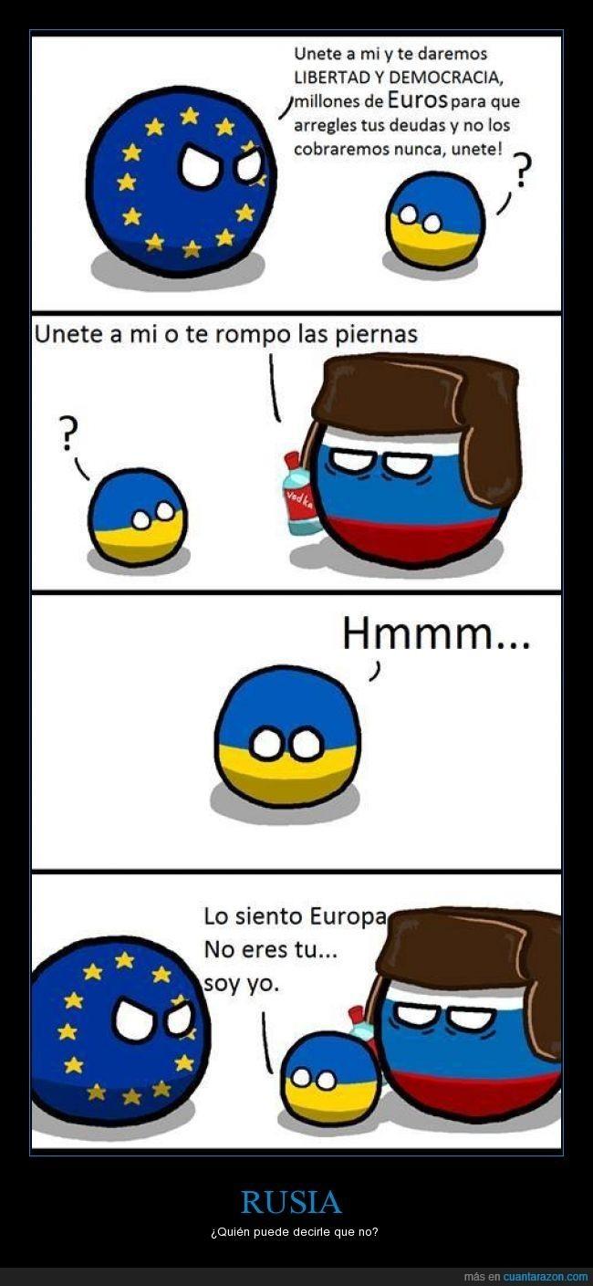 Русский ты не поймешь (viva Rusia en ruso) - meme