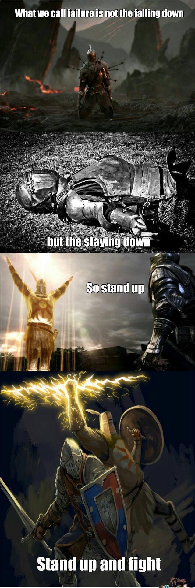 Motivational Souls - meme