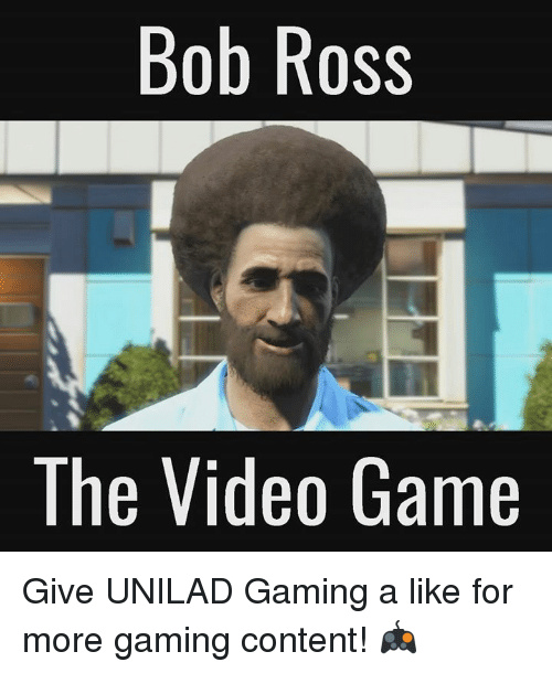 5a64737044743 bob ross lol meme by moderation tester ) memedroid