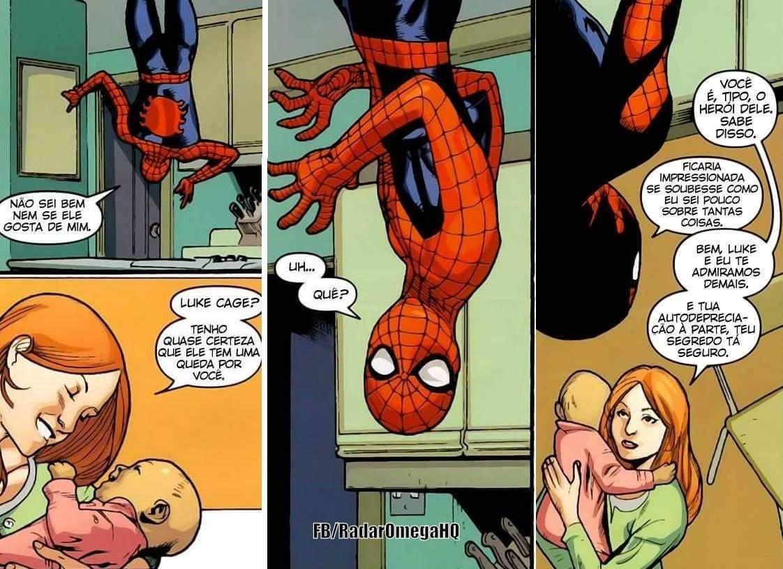 Homem aranha é foda - meme