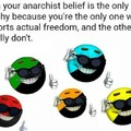Anarcho-strawman