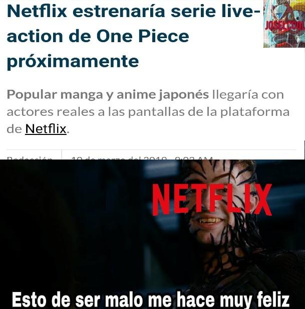 Maldita sea, Netflix... - meme