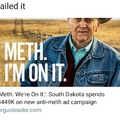 Ever been so hopped up on meth u spent $449K to tell everyone?