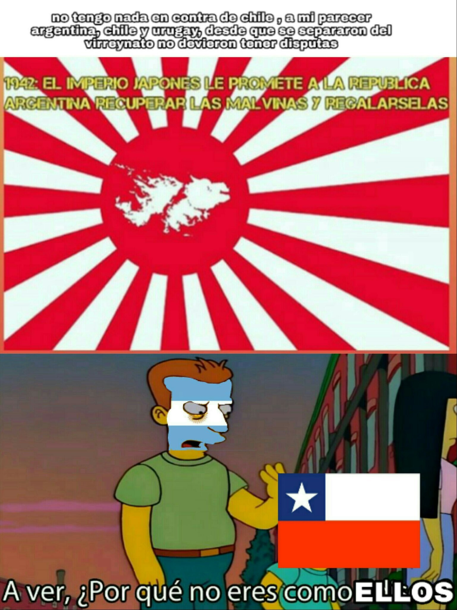 Un groso japon imperial - meme