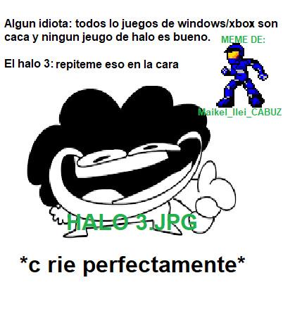 ES PERFECTO EL HALO 3 - meme