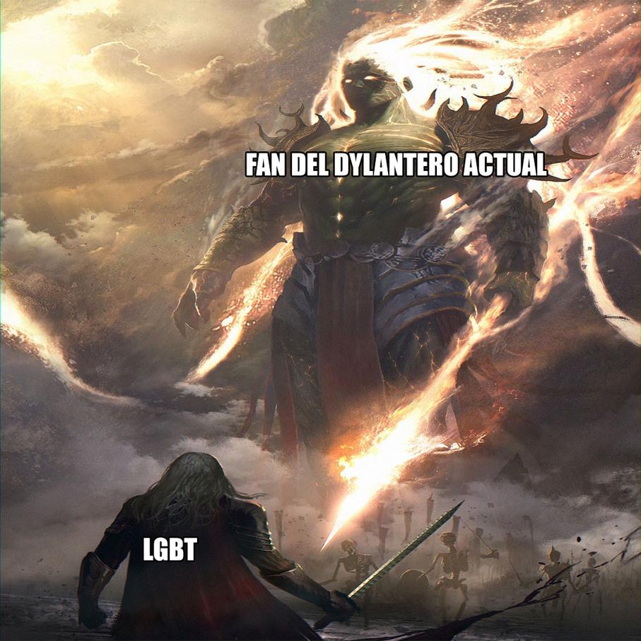 El dylantero actual no da risa - meme