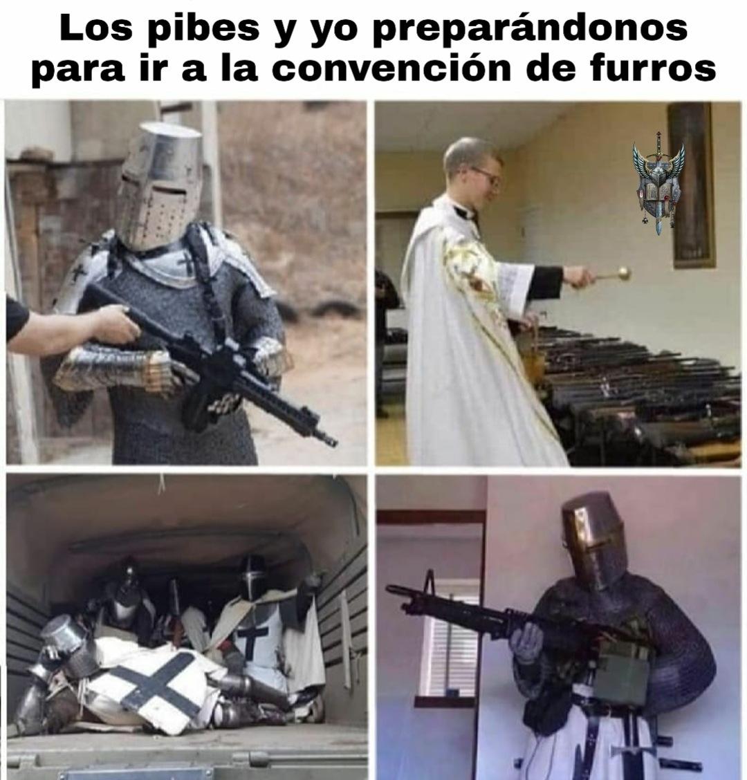 POR LA GLORIA DEL IMPERIUM, AL ATAQUE HERMANOS!!! FOR THE EMPRAH!!! - meme