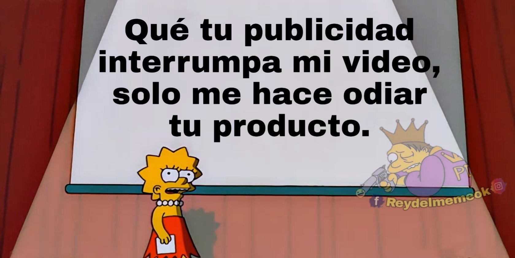 Publicidad en YouTube be like - meme