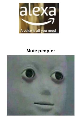 mute - meme