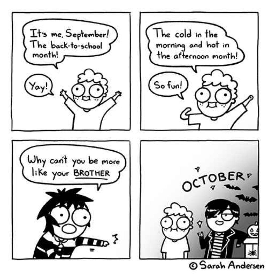 Spooky is always best - meme