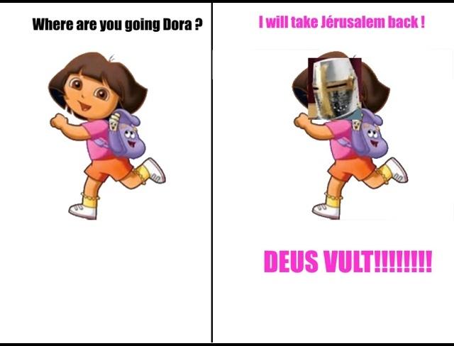 DEUS FUCKING VULT - meme
