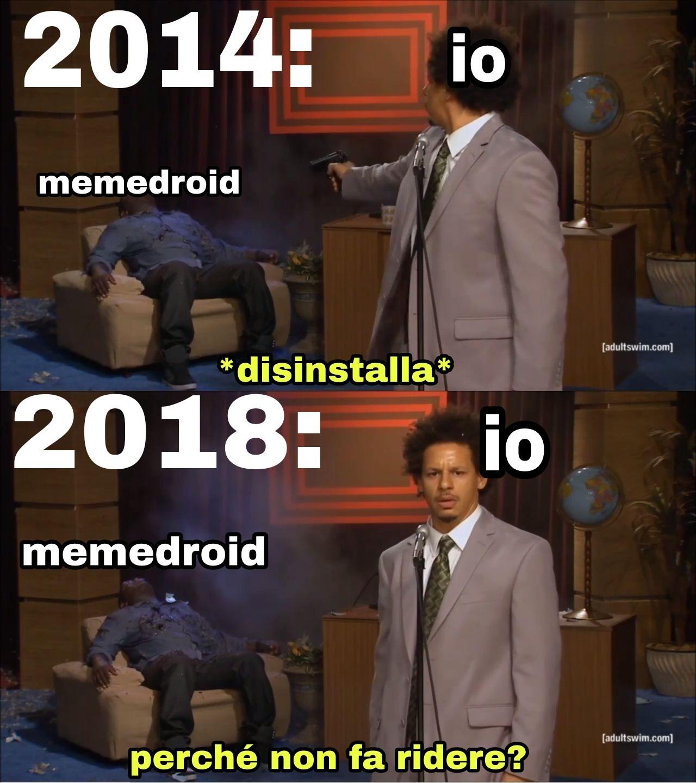 sono nuovo - meme