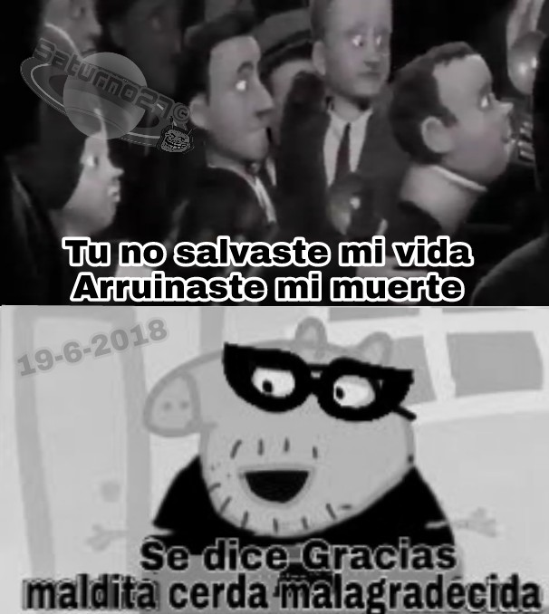 Mr Peppa increíble - meme