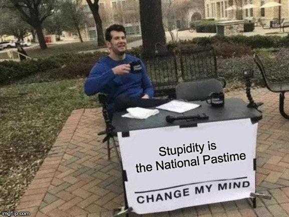 Stupidity - meme