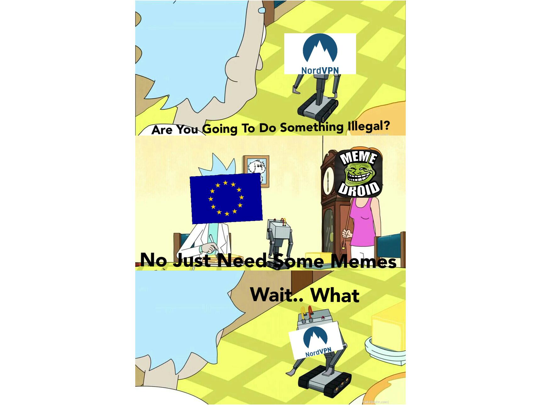 Damn EU - meme