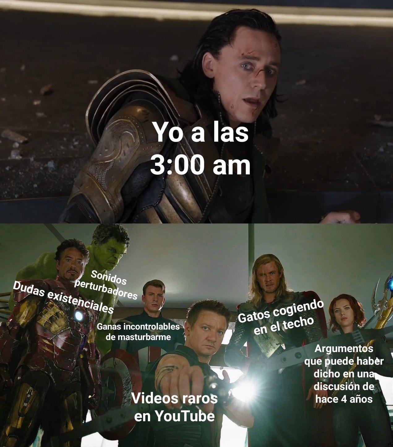 Ganas de dormir lpm - meme