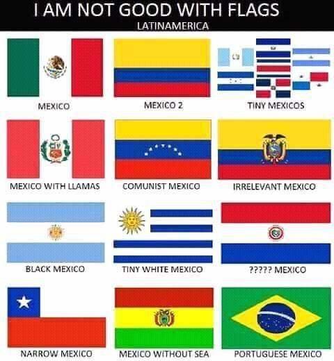 Latinoamerica segun los Amerifats - meme