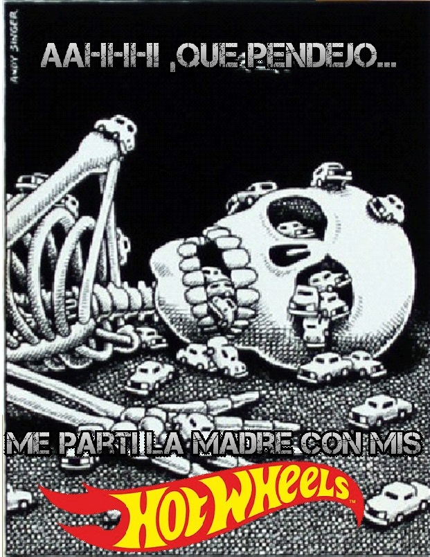 Hotwheels Asesinos - meme