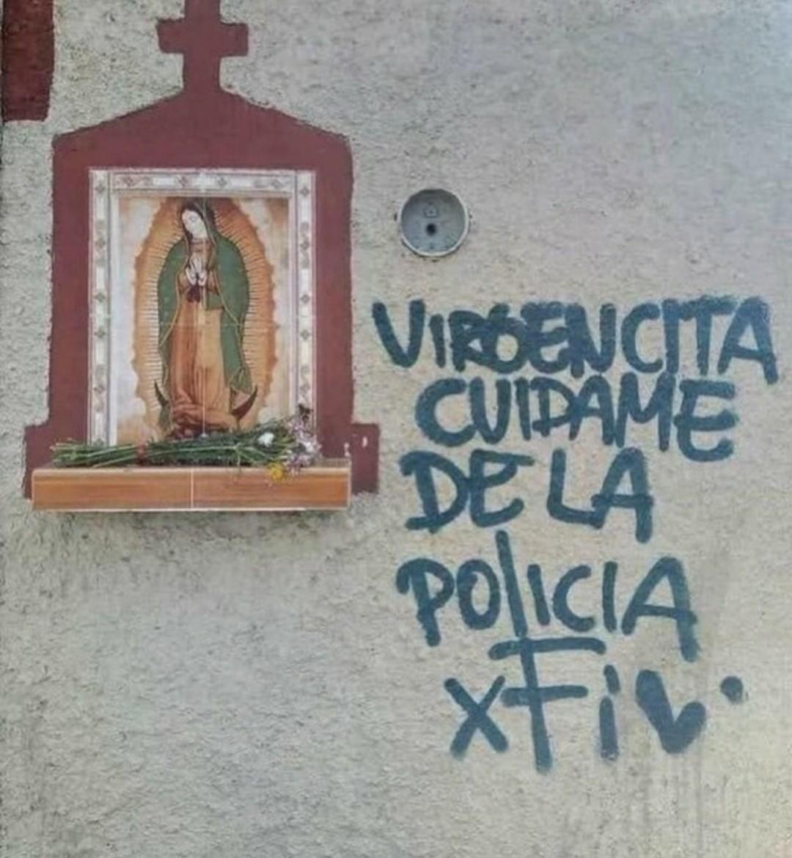 Lo salvó la virgencita de Guadalupe - meme