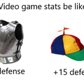 Video games stats be like