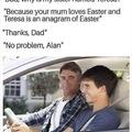 Hmmmmm, Alan   Lmfao