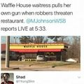 I love Waffle House so much