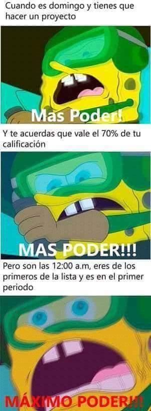 Más poder >:v - meme