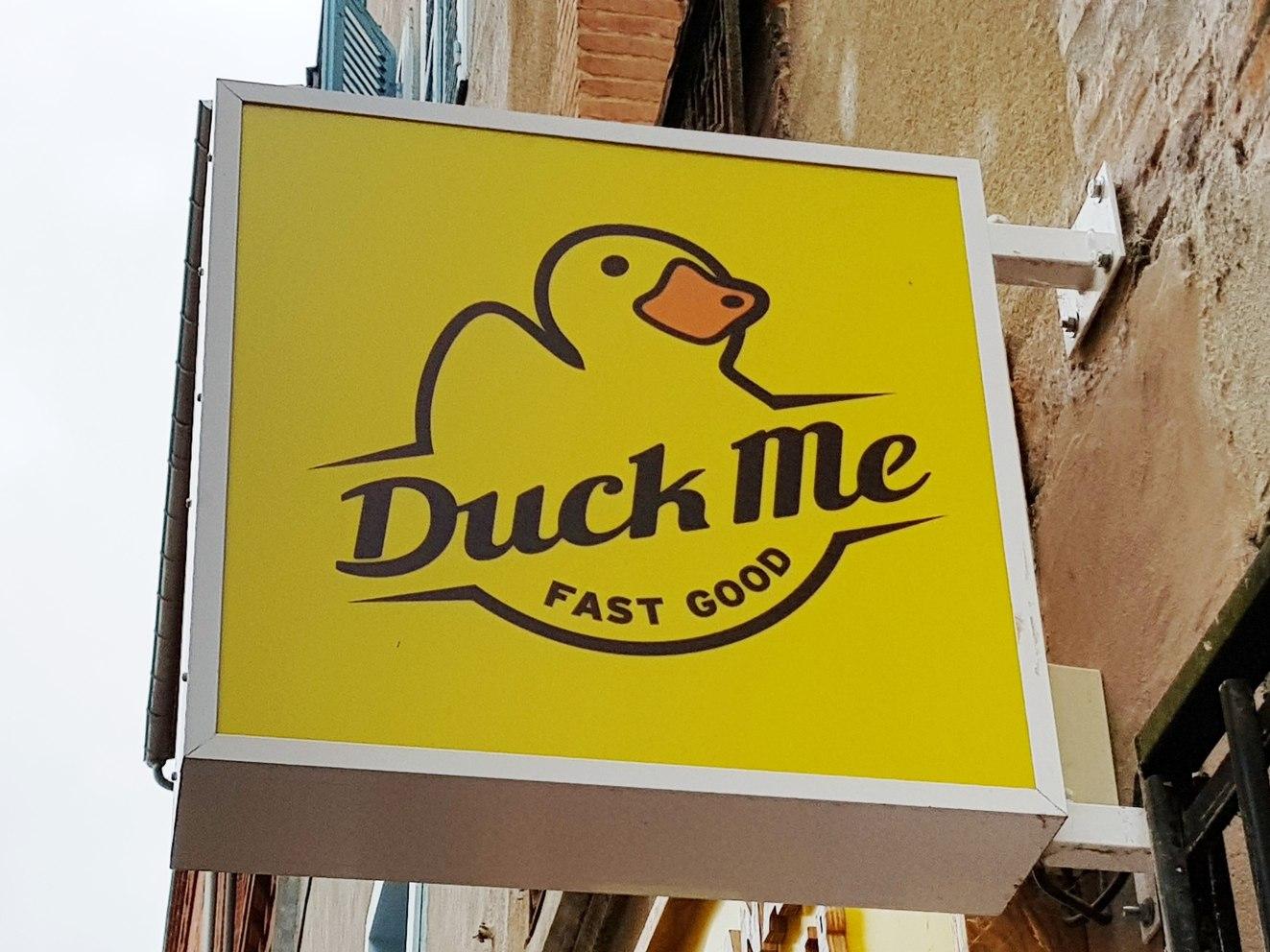 Duck me hard and good - meme