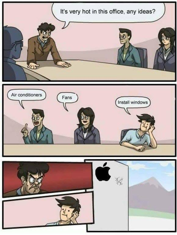 Windows ou mac ? - meme