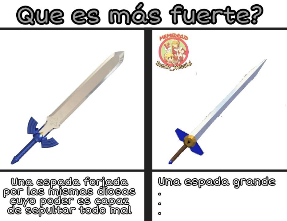 Lógica de Zelda - meme