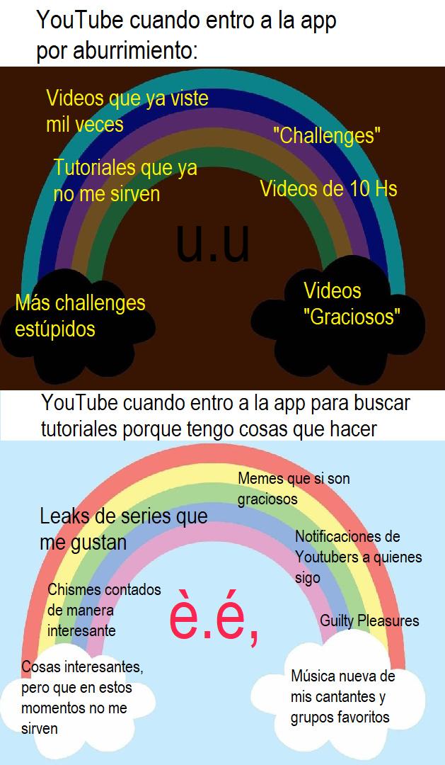 Arcoiris Sad/ Arcoiris Picaro - meme